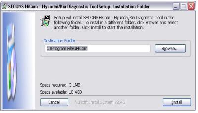 hicom hyundai kia 2 - How to install HiCOM driver software for Hyundai and Kia -