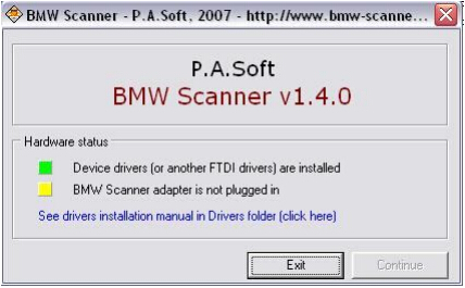 BMW V1.4.0 PAsoft install 2 - Free BMW V1.4.0 PASoft scanner software and instruction