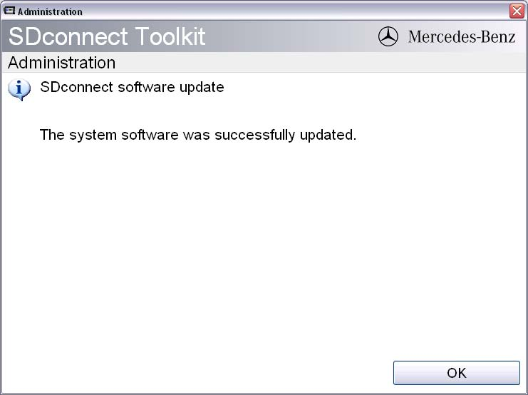 confirm update 08 - MB sdconnect C4 update firmware in mux