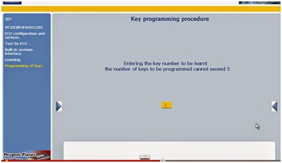 key programming procedure