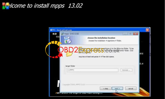 Free MPPS V13 02 software driver and installation on Win 7
