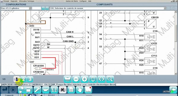Read Vehicle Wiring Diagrams With Multi