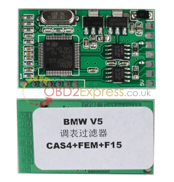 BMW CAS4 CAN Filter 1 - How to use BMW CAS4 CAN Filter v5 -