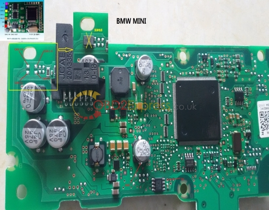BMW MINI F56 11 - How to use BMW CAS4 CAN Filter v5 -