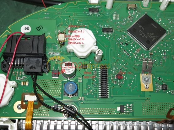 F18 instrument wiring 9 - How to use BMW CAS4 CAN Filter v5 -
