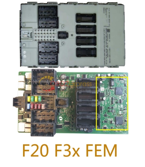 F20 F3x EFM 12 - How to use BMW CAS4 CAN Filter v5 -