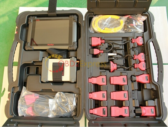 Package cutomer received - AUTEL MaxiSys Elite + J2534 ECU Programmer- it's all here