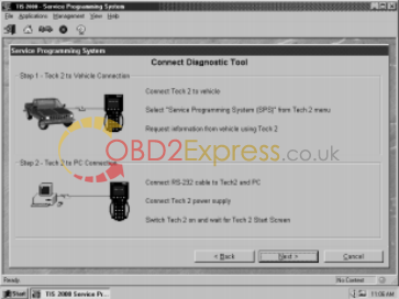 Perform remote SPS Using TIS 2000-5