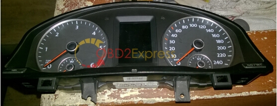 The original instrument cluster-2