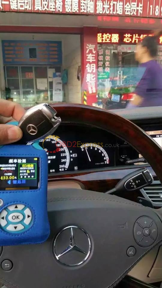 Handy baby car key copy + Mercedes Benz-2