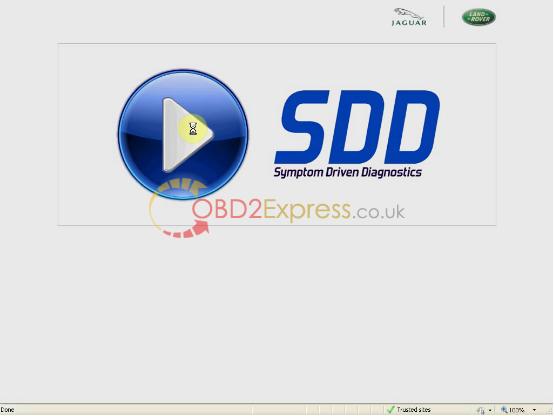JLR SDD V143 for VXDIAG VCX NANO-4