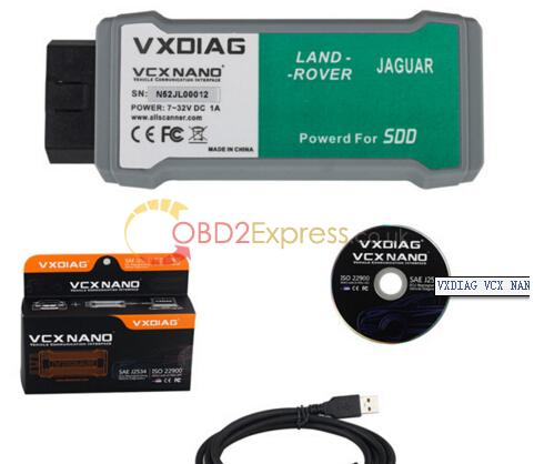 JLR SDD V143 for VXDIAG VCX NANO