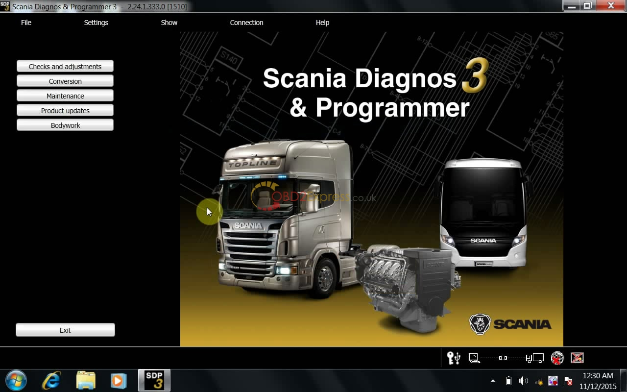 SCANIA VCI 2.24 3 - Install SDP3 V2.24 for VCI 2 VCI 3 on Win 7