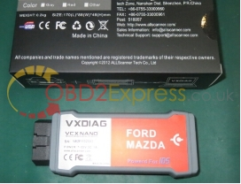 VXDIAG VCX NANO for Ford Mazda