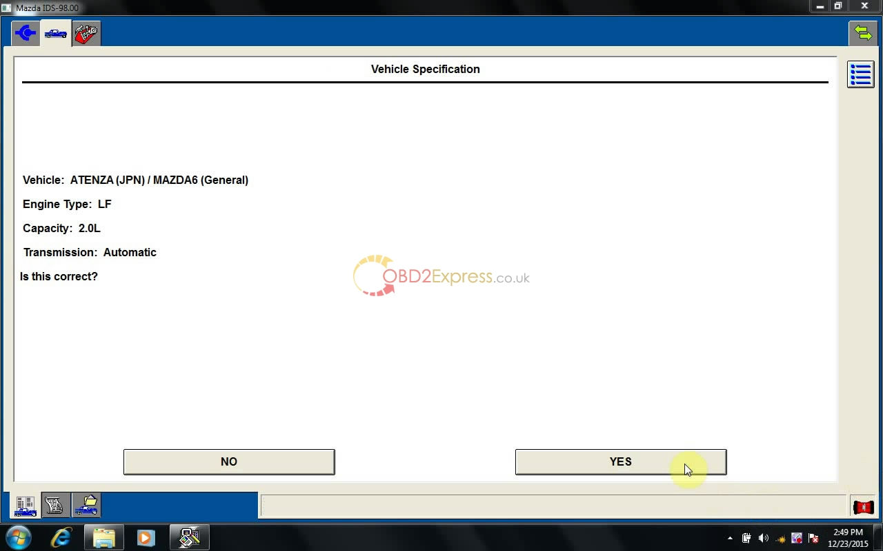 instal MAZDA IDS 98 11 - How to install MAZDA IDS V98 on Win7/ XP