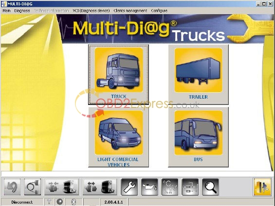 multi diag trucks diagnostic tool software bluetooth 1 - Multi-Di@g Truck Heavy Duty Diagnostic software installation tips