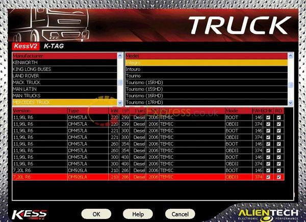 truck kess v2 firmware manager tuning kit master des 3 - Kess V2 master for truck, where to get? -