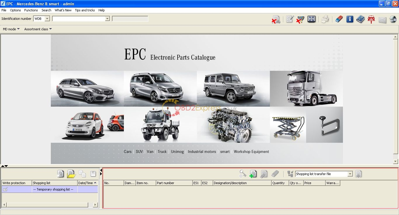 2016 mercedes epc electronic parts catalogue full download. Black Bedroom Furniture Sets. Home Design Ideas