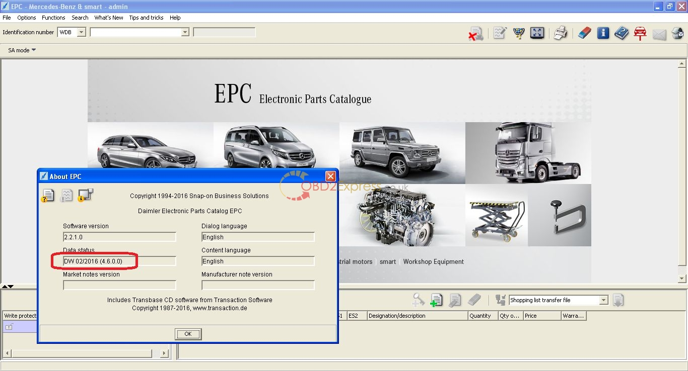 2016 mercedes epc electronic parts catalogue full download for Official mercedes benz parts