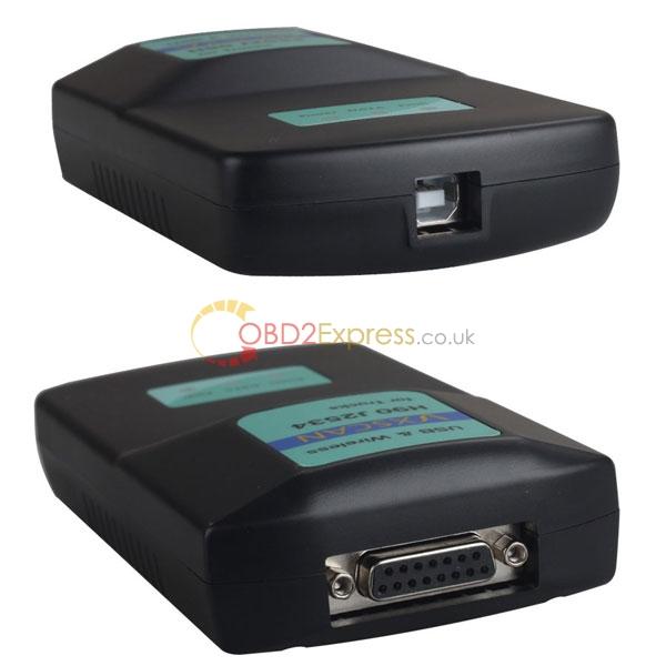 vxscan h90 j2534 diesel truck diagnose interface 2 - VXSCAN H90 J2534 Truck diagnostic tool –replacement NEXIQ USB
