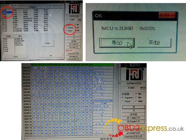 bmw EWS 4.3 4.4 Working with R270 programmer 11 600x452 - BMW EWS-4.3 & 4.4 IC Adaptor for X-PROG/AK90/R270 programmer