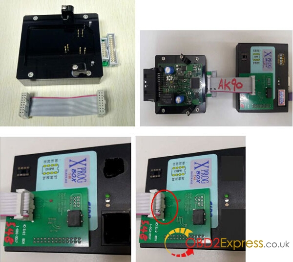 bmw EWS 4.3 4.4 Working with X PROG programmer 8 600x535 - BMW EWS-4.3 & 4.4 IC Adaptor for X-PROG/AK90/R270 programmer