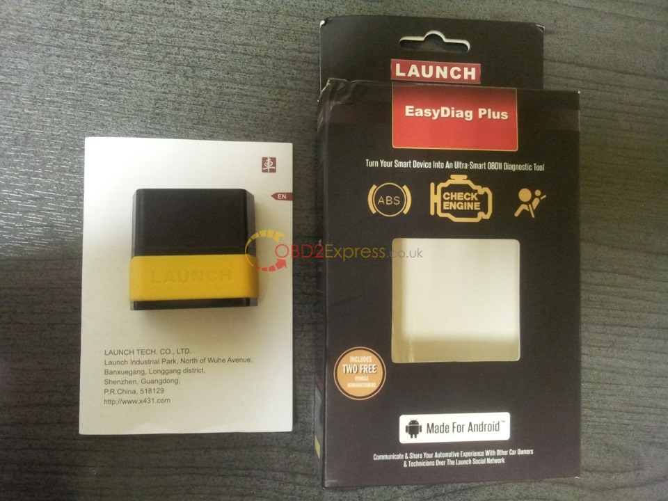easydiag mux - How to diagnose with Launch EasyDiag Bluetooth reader -