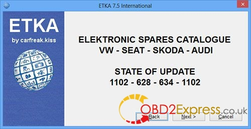install ETKA 7.4 3 - How to install ETKA 7.4 Electronic Catalogue on WIN 7/8/10