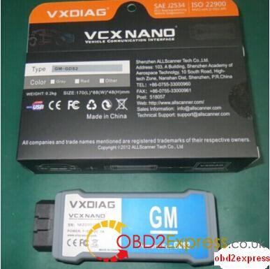 2016 GM MDI GDS2 V15 for VXDIAG NANO Free Download