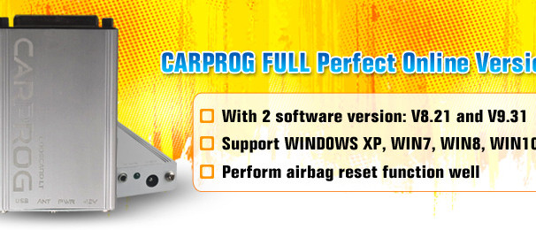 CARPROG FULL V8.21 Firmware Perfect Online Version