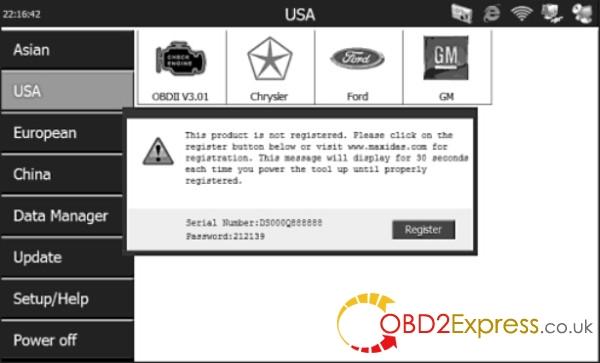 Autel MaxiDAS DS708 scanner-3