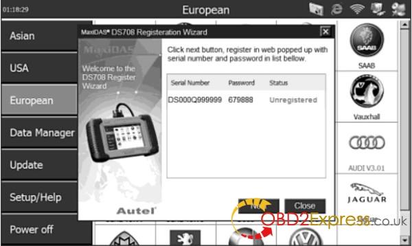 Autel MaxiDAS DS708 scanner-5