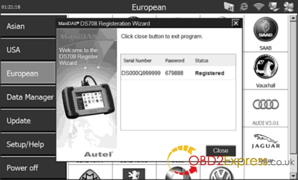 Autel MaxiDAS DS708 scanner-7