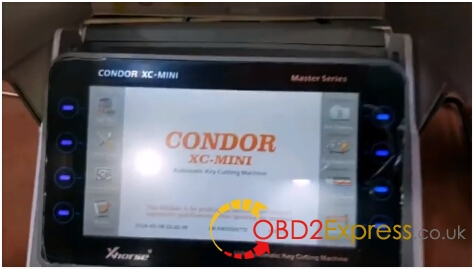 Condor XC-MINI Cutting Machine-1