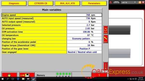 Diagbox V7.76 Software display-1