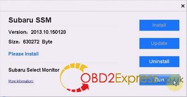 click run 13 - VXDIAG Subaru SSM 01.2015 Free Download and Setup Instruction -