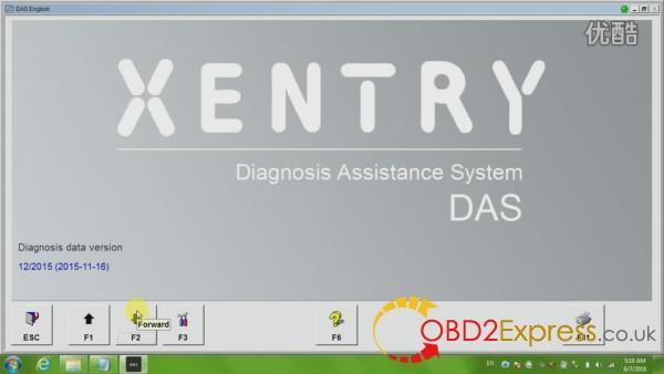 das xentry 01 600x338 - How to diagnose Mercedes Benz W211 with jDiag Elite J2534