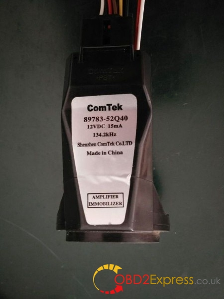 immobilizer coil 89783-52Q40-2