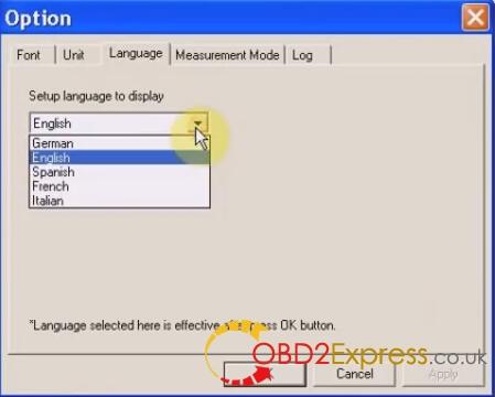 language 15 - VXDIAG Subaru SSM 01.2015 Free Download and Setup Instruction -