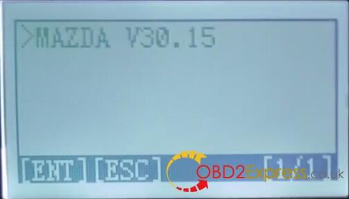 mazda V30.15