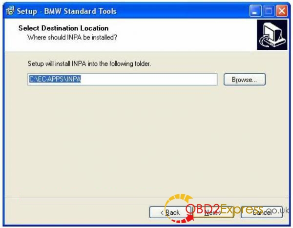 How to install INPA 5.0.2 BMW 08 600x467 - Free Download BMW INPA 5.0.2 EDIABAS to install on Windows XP