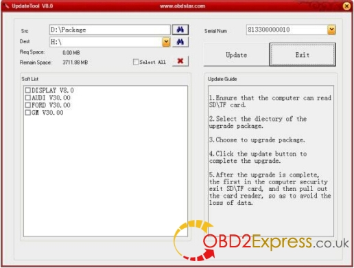 OBDSTAR X300 PRO3 software-5
