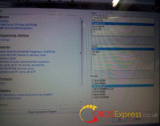 Xprog M v5.3 eeprom m5.3 3 - XPROG-M, Carprog v8.21, R270 - read & erase BMW EEPROM M35080 -