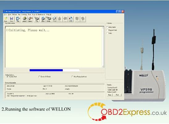 wellon vp598 programmer software 2 - Original Wellon VP598 universal programmer run faster than VP390, how much?