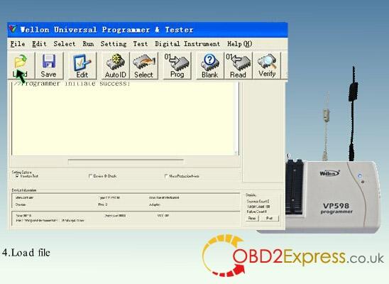 wellon vp598 programmer software 4 - Original Wellon VP598 universal programmer run faster than VP390, how much?