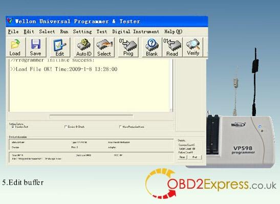 wellon vp598 programmer software 5 - Original Wellon VP598 universal programmer run faster than VP390, how much?
