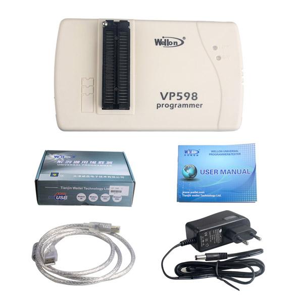 wellon vp598 programmer - Original Wellon VP598 universal programmer run faster than VP390, how much?
