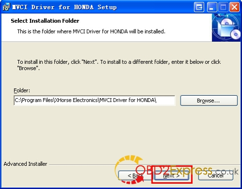 Install MVCI Driver 7 - XHORSE MVCI 3 IN 1 HONDA HDS software Installation Guide -