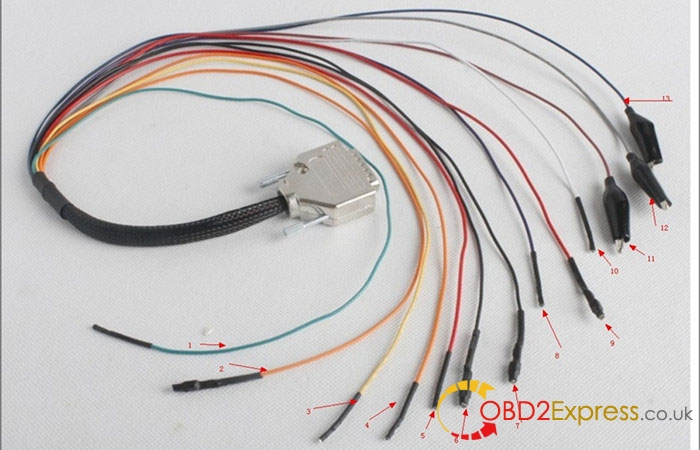 k tag rainbow cables - How to use KTAG KTM100 to read BMW F10 EDC17C41 [tips] -