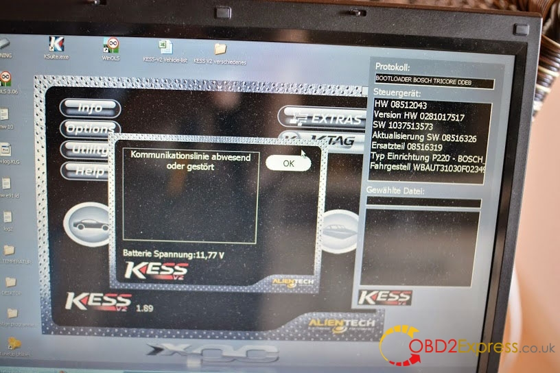 kess v2 EDC17C41 failed 2 - How to use KTAG KTM100 to read BMW F10 EDC17C41 [tips] -